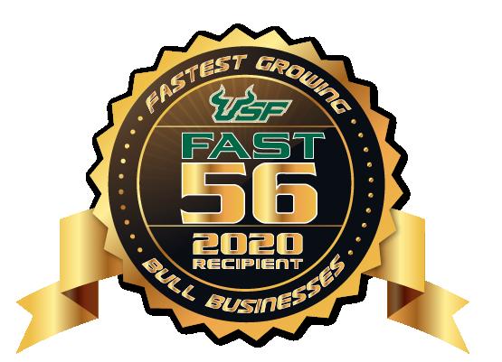 2020 fast 56 winner badge